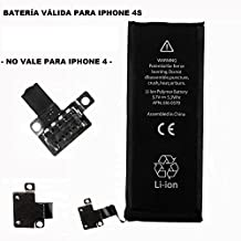 Repuesto de bateria interna / recambio compatible con Apple iphone 4S 4GS 1430 mah