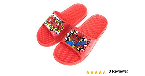 Pantoufles Spiderman Plage Piscine Flip-Flop Spiderman pour enfants