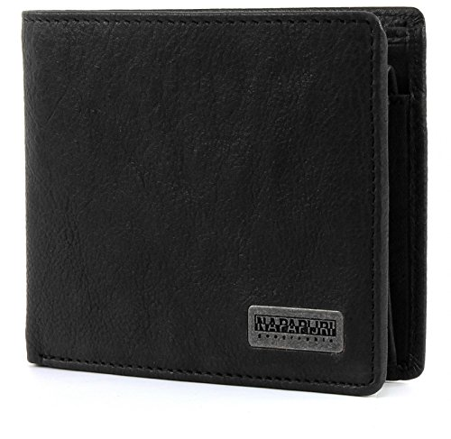 NAPAPIJRI 'Molde Washed Billfold 10 C/C Coinpocket Black' Borsa