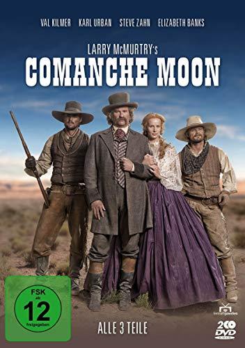 Larry McMurtry's Comanche Moon - Alle 3 Teile [2 DVDs]