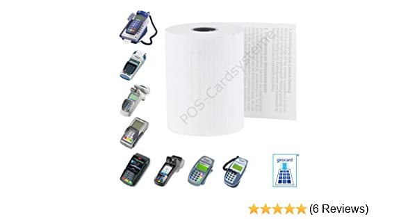 57 x 38 Thermal Credit Card Machine Till Roll Receipt Paper 2 Box 40 Rolls 57 x 38 x 12.7mm Core 57x40 Fit Pax S920