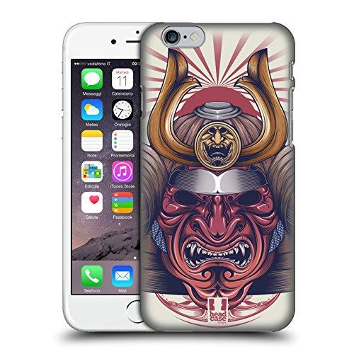 Head Case Designs Koi Orientalische Symbole Ruckseite Hülle für Apple iPhone 6 / 6s Samurai Maske