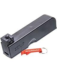 30rds Cargador para WELL VSR-10 MB02, MB03, MB07D, MB10D, MB11D, MB12D, MB13D Airsoft Bolt Action - AirsoftGoGo Llavero Incluido