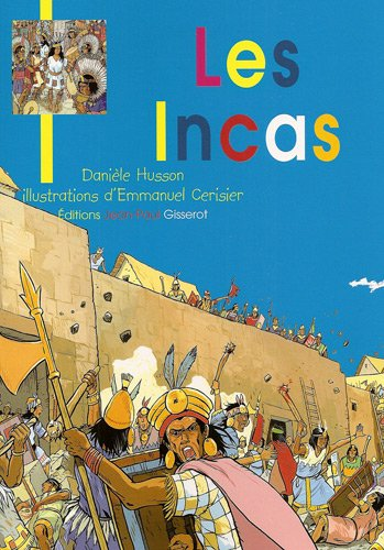 Les incas - jeunesse broche