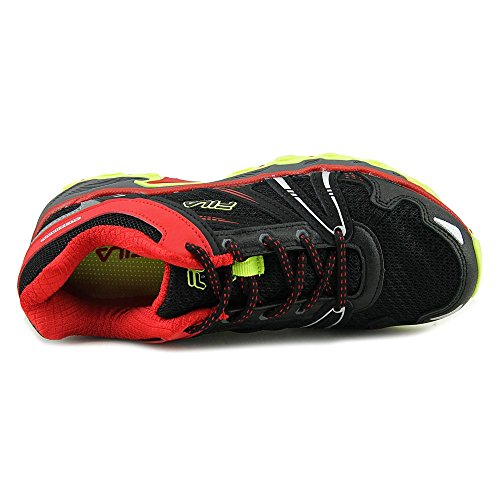 Fila TKO TR Synthétique Chaussure de Course Blk-FRed-Sfty