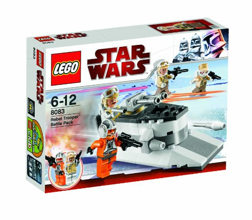LEGO Star Wars 8083 - Rebel Trooper Battle Pack - Star Wars Legos 2010