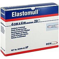 Elastomull 4 cmx4 m 2099 Elastische Fixierbinde, 20 St preisvergleich bei billige-tabletten.eu
