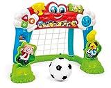 Clementoni 14434 Miniatur-Fußballtor / Lernspiel