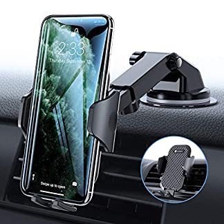 VICSEED-Handyhalter-frs-Auto-Handyhalterung-ArmaturenbrettWindschutzscheibeLftung-Universal-Kfz-Handy-Halterung-fr-iPhone-11-Pro-XS-Max-XR-X-8-7-Plus-Samsung-S10-S9-S8-Huawei-P30-Pro-usw