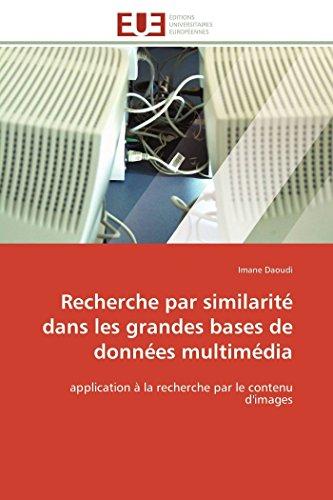 Recherche par similarité dans les grandes bases de données multimédia par Imane Daoudi