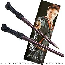 Harry Potter wand pen and bookmark set. (accesorio de disfraz)