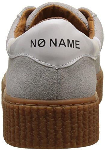Unbekannt Damen Picadilly Sneaker Suede Flach Blanc (White Sole Beige Mastic)