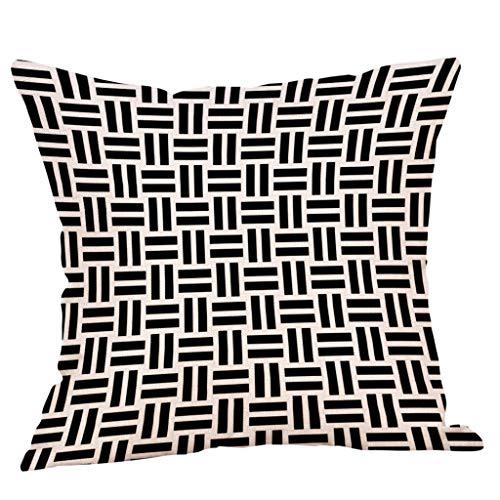 Xmansky Fundas De Cojines, Cómodo Estilo deFunda de almohada con estampado geométrico...