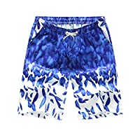 Blue Swim Short For Men