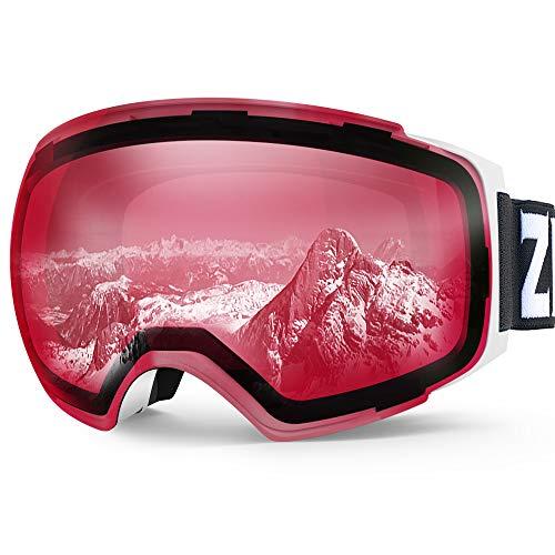 ZIONOR X4 - Gafas esquí Snowboard magnéticas, Doble