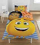 Emoji Bettwäsche-Set, mehrfarbig, Single