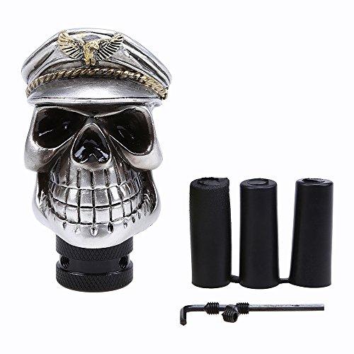 Skull Schaltknauf, Possbay Auto Navy Design Gear Shift Regler Stick Shifter Manuelle MT (Stick Shifter Gear)