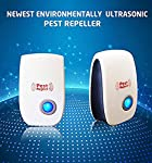 LATEST VERSION (Ver-3) AUTHENTIC PEST REPELLENT - Just plug this device in and start repelling away mice, cockroaches, rodents, spiders, ants and rats. Totally safe around pets and kids. USE 1 DEVICE FOR EACH ROOM for best results, as ultrasonic wave...