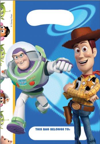 Disney Amscan Toy Story 3Geburtstagstüten Tüten Mitgebsel (Geburtstag Story Toy Woody)