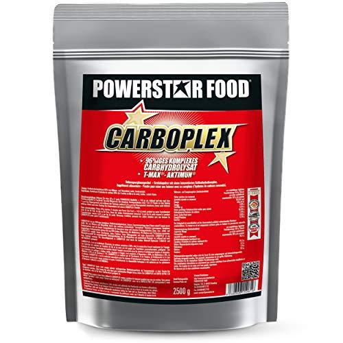 100% KOHLENHYDRAT-KOMPLEX - innovative Carb-Kombi - perfekt für MUSKELAUFBAU, MASSEPHASE & LADEPHASE - 2500g Kalorienshake Pulver - MADE IN GERMANY (Natur, 2500 g)