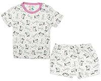 Sofie & Sam - conjunto de camisa y bermuda para 6-9 meses bebé, de algodón orgánico