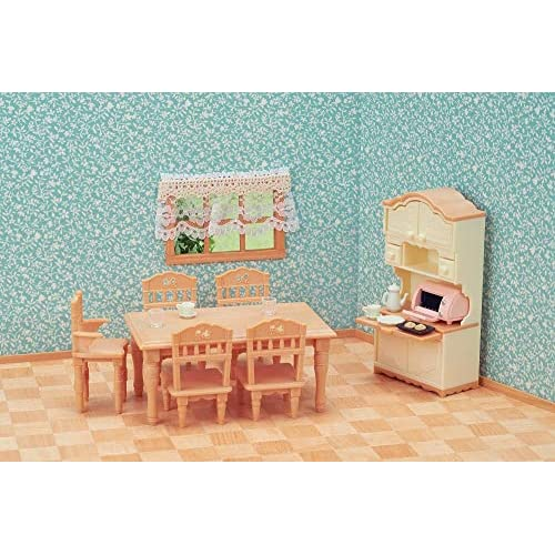 Sylvanian Families 5340 Dining Room Set, Multicolor