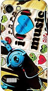 Cliche Printed Back Cover For Oppo Neo 7