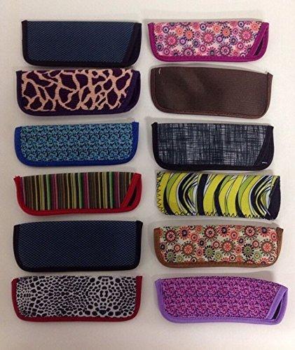 Großhandel von Lot- 10Foster Grant Lesebrille Slim Soft Sleeve Cases New Sortiert