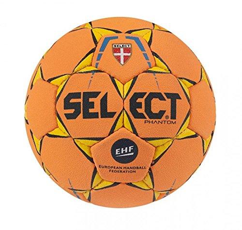 SELECT Phantom-Balón de Balonmano, Color Naranja, tamaño 1