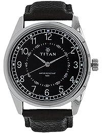 Titan Neo Analog Black Dial Men's Watch-1729SL02