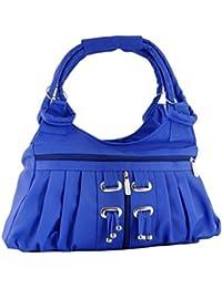 FourDatr Hand-held Frill Bag (Blue)
