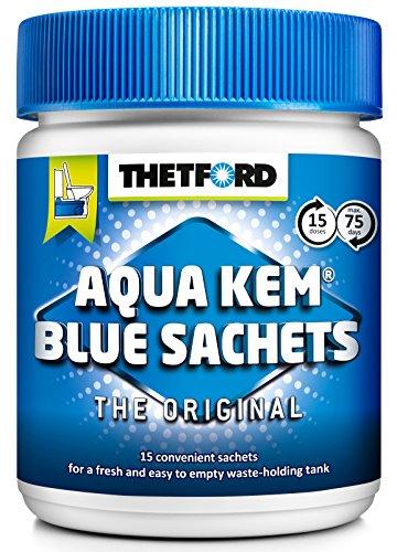 Preisvergleich Produktbild Thetford Aqua Kem Blue Sachets 200413 Sanitärflüssigkeit in Beuteln