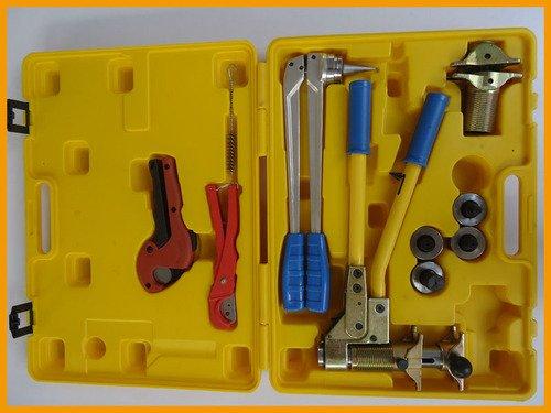 Gowe Outil de fixation PER de 16–32 mm utilisé pour fixations Toolbank Rehau bien reçu Toolbank Rehau Outil de plomberie