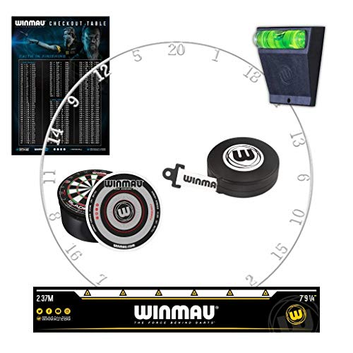 Winmau Dart Zone Upgrade Kit Improvement Pack mit Zahlenring