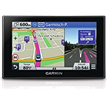 Garmin nüvi 2599 LMT-D EU Navigationsgerät (lebenslange Kartenupdates, DAB+, Sprachsteuerung, 12,7cm (5 Zoll) Touch-Glasdisplay) (Zertifiziert und Generalüberholt)