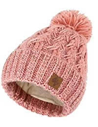 4sold Mens Womens Beanie Warm Winter Cable Knitted Bobble Hat Plain Ski Pom  Wooly Cap Full 619c0e4ad7e2