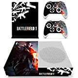 #3: Hytech Plus Battlefield 1 Special Guns Edition Theme Sticker for Xbox One S Console & 2 Controllers