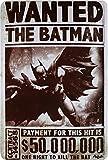 Wanted The Batman Comic Figurine Plaque de 20x 30Tôle Rétro 732