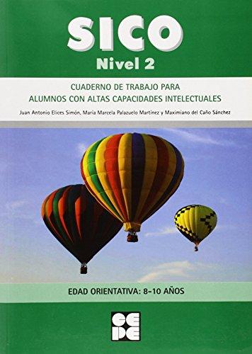 Sico Nivel 2 - Cuad Trabajo Para Alumnos Con Altas Capacidades Intelectuales (Fichas Infantil Y Primaria) - 9788478699896