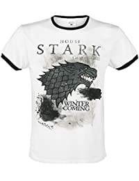 Game of Thrones Stark Storm T-shirt blanc/noir