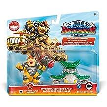 Figurine Skylanders : Superchargers - Dual Pack - Hammer Slam Bowser + Clown Cruiser