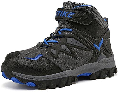 Kinder Baumwollschuhe Kletterschuhe Dschungel Jungen Gehen Trekking Leicht Draussen Sportlich Schuhe Wanderschuhe, 1-blau, 37 ()