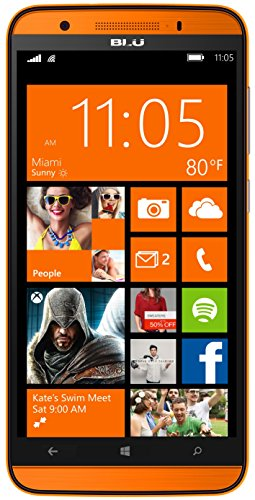 BLU Win HD LTE Smartphone (5,0 Zoll (12,70 cm) Touch-Display, 8 GB...