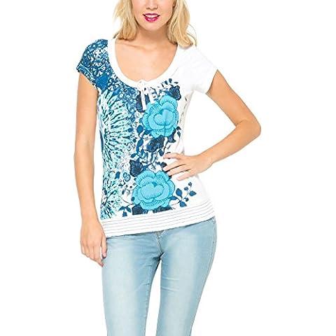 Desigual Cherain Rep-T-shirt  Donna