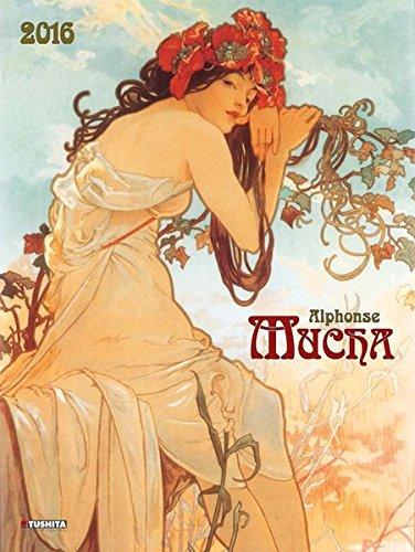Preisvergleich Produktbild Alphonse Mucha 2016: Kalender 2016 (Dcor Calendars) (Decor 45x60)