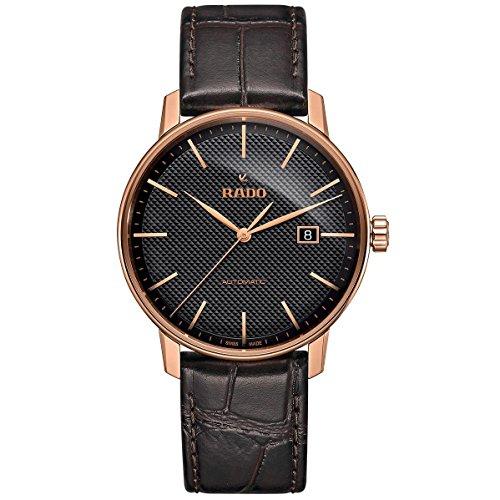 Rado Coupole Classic Herren-Armbanduhr 41mm Armband Leder Automatik R22877165