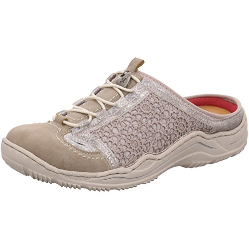 Rieker Damen Pantoletten Grau, Schuhgröße:EUR 38