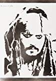 Jack Sparrow Fluch Der Karibik Poster Plakat Handmade Graffiti Street Art - Artwork