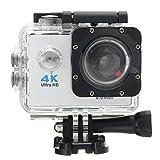 Gaddrt Wasserdichte 4K Wifi HD 1080P Ultra Sports Action Kamera DVR Cam Camcorder (weiß)