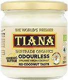 TIANA Fair Trade Organics Pure Virgin Coconut Cooking Butter (Odourless - No Coconut Aroma & Taste) - 350ml